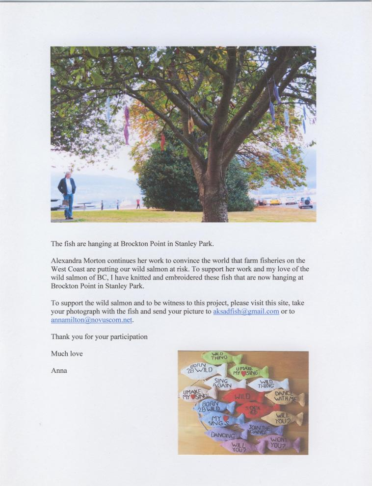 Fish Project 2012 Handout