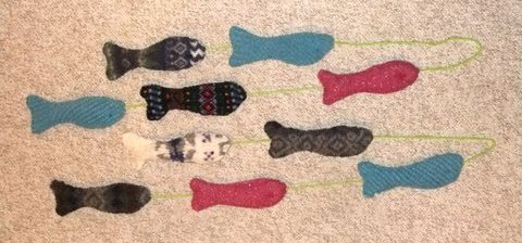 Marianne's Sweet Felted Fish