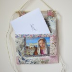 Madonna pocket with card