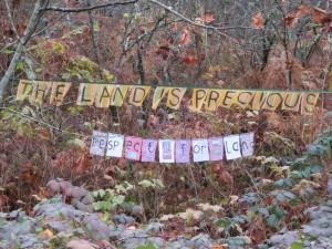 respect for land